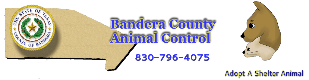 Bandera County Animal Control